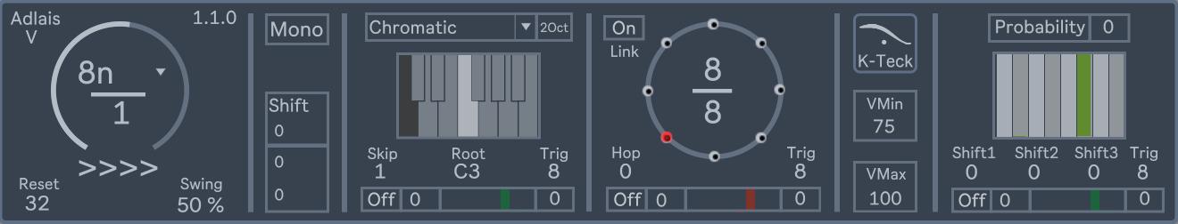 Adlais V – Performance Step Sequencer