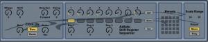 Max for Live Shift Register Sequencer