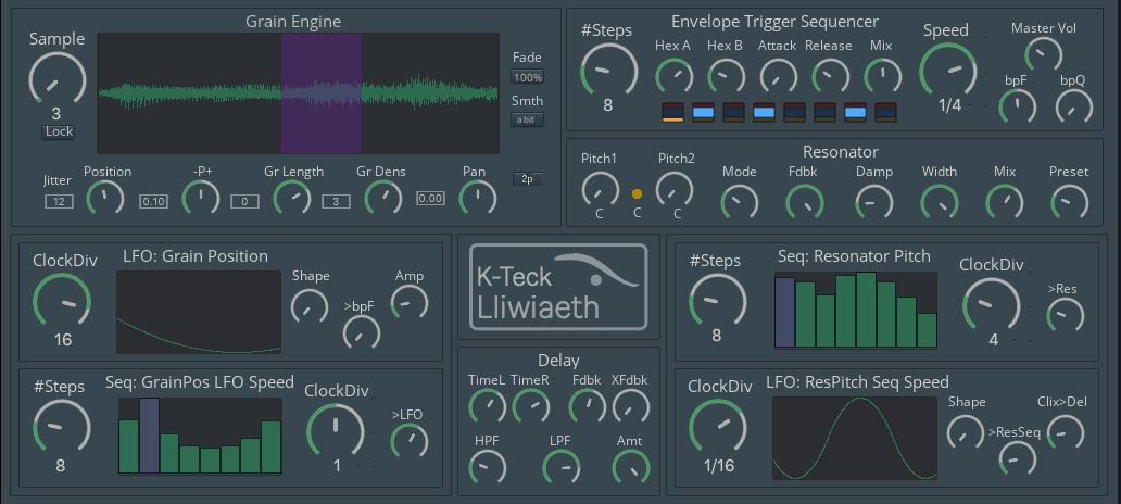 Lliwiaeth: Colouring With Sound