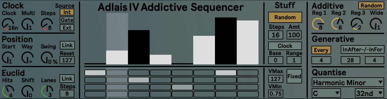 Adlais – Additive Performance Sequencer
