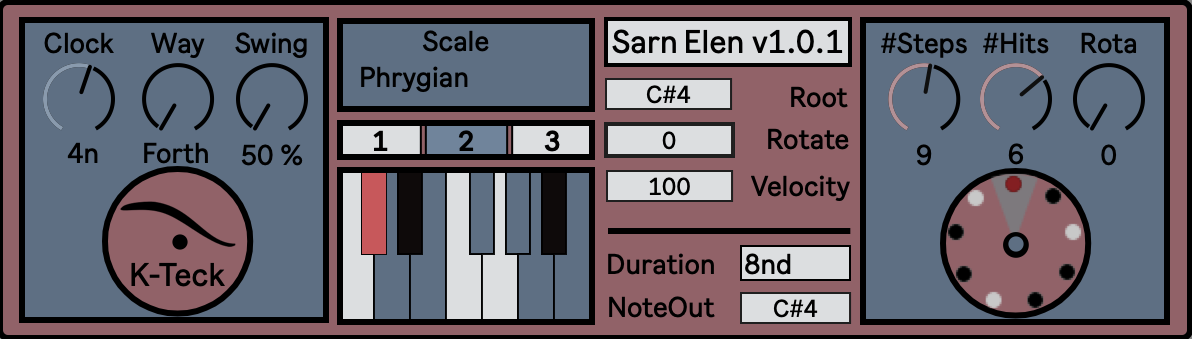 Sarn Elen: Scale Scanning Sequencer: Free Download