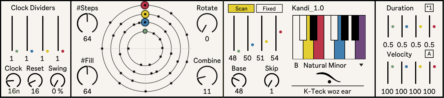Kandi: Circle Sequencer