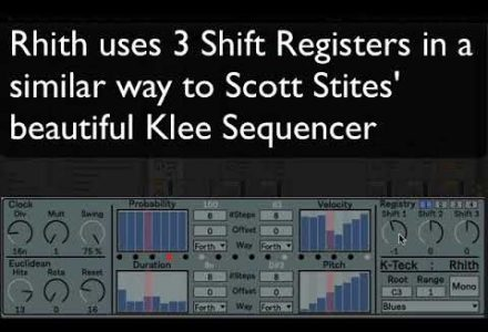 K-Teck presents: Rhith: Form Sequencer: Max for Live
